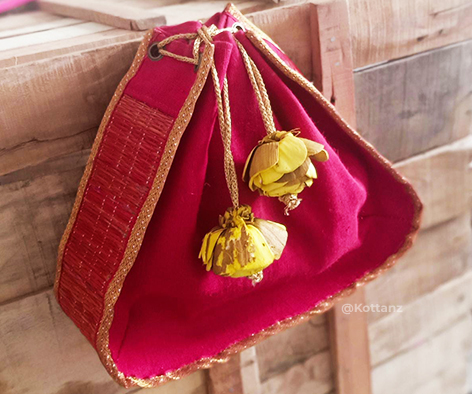 Red Potli - wedding collection